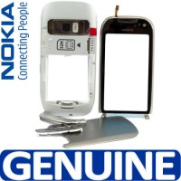 Nokia C7 Housing Panel With Touch Pad Module - White
