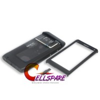 Nokia N8 Housing Complete Panel With Touch Screen - Black