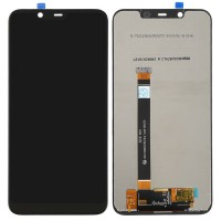 Nokia 7.1 Plus LCD Screen With Touchpad Digitizer Module - Black