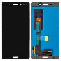 Nokia 6 LCD Screen With Digitizer Module - Black