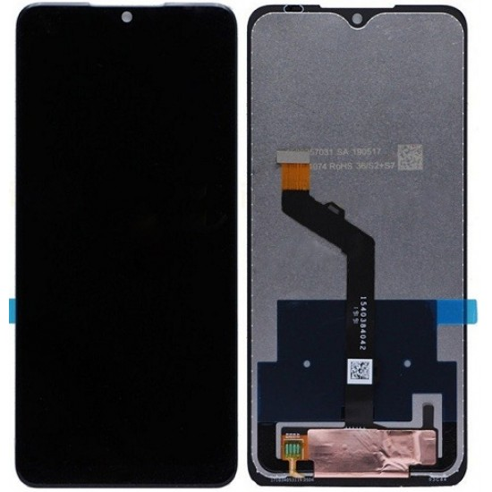 Nokia 7.2 LCD Screen With Digitizer Module - Black