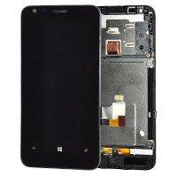 Nokia Lumia 620 LCD Screen Module With Touch Screen Module - Black