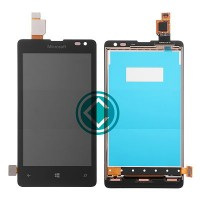 Nokia Lumia 435 LCD Screen With Digitizer Module - Black