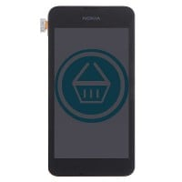 Nokia Lumia 530 LCD Screen With Digitizer Module - Black