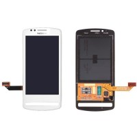 Nokia 700 LCD Screen With Touchpad Digitizer Module - White