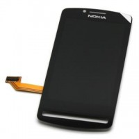 Nokia 700 LCD Screen With Touchpad Digitizer Module - Black