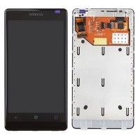 Nokia Lumia 800 LCD Screen With Digitizer Module - Black