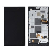 Nokia Lumia 928 LCD Screen And Touch Pad Module - Black