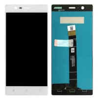 Nokia 3 LCD Screen With Touch Pad Digitizer Module - White