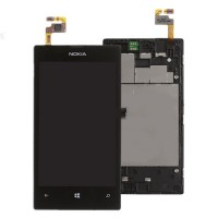 Nokia Lumia 520 LCD Screen With Digitizer Module Black