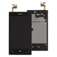 Nokia Lumia 520 LCD Screen With Digitizer Module - Black