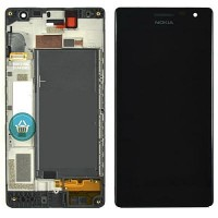 Nokia Lumia 730 LCD Screen With Digitizer Module - Black
