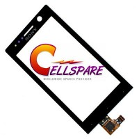 Sony Xperia U ST25i Touch Screen Digitizer Module - Black