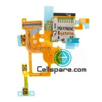 Sony Xperia T LT-30 Sim Tray With Flex Cable