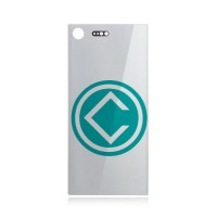 Sony Xperia XZ Premium Battery Door Module - Silver