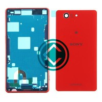 Sony Xperia Z3 Compact Complete Housing Module Orange