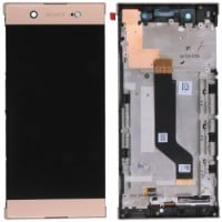 Sony Xperia XA1 Ultra LCD Screen With Digitizer With Frame - Pink