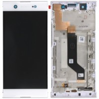 Sony Xperia XA1 Ultra LCD Screen With Digitizer With Frame - White