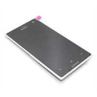 Sony Xperia S LT26 LCD Screen With Front Housing Module - Black