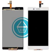 Sony Xperia T2 Ultra D5322 LCD Screen With Touch Pad Digitizer - White