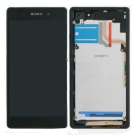 Sony Xperia Z2 LCD Screen With Front Housing Module - Black