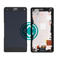 Sony Xperia Z3 Compact LCD Screen With Front Housing Module - Black