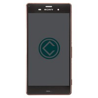 Sony Xperia Z3 LCD Screen With Front Housing Module - Copper