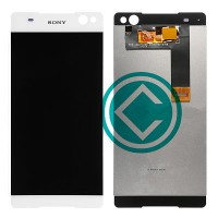 Sony Xperia C5 Ultra LCD Screen With Digitizer Module - White