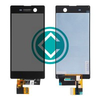 Sony Xperia M5 Dual LCD Screen With Digitizer Module - Black