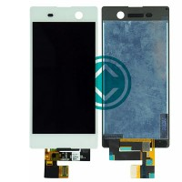 Sony Xperia M5 Dual LCD Screen With Digitizer Module - White