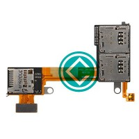 Sony Xperia M2 Sim Card And SD Card Reader Replacement Module